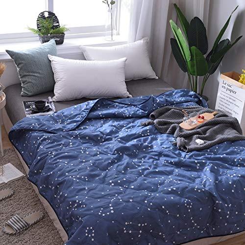GGsmd Summer Quilt Dünne Quilt Kann Maschinell Waschen Frühling Und Herbst Durch 100 * 150Cm Sternbilder Jäger Sommerdecke