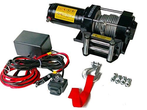 Varan Motors sc3.0X Cabrestante eléctrico 12V 1360KG 1000W, cable de 9.2m Ø 5.5mm