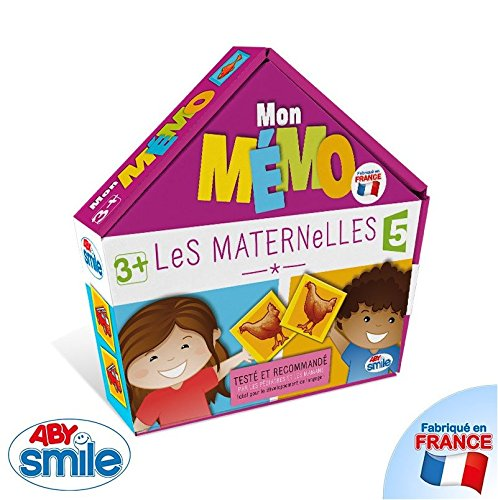 Jeu éducatif Les Maternelles - Mon Mémo