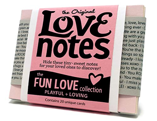 Original Love Notes - FUN LOVE Collection - Sweet little handwritten-style cards to show your special people how you feel