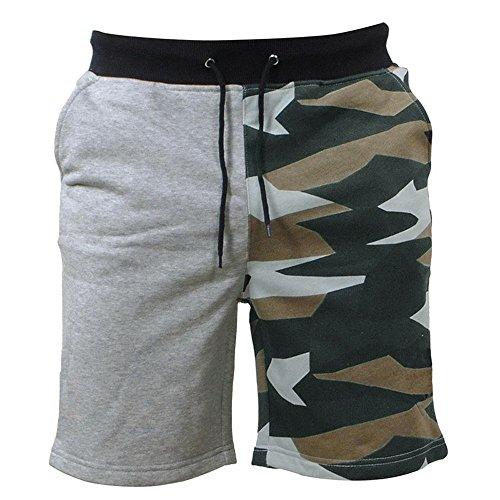 FRAUIT Heren zwembroek camouflage shorts zwemshorts voor mannen sportbroek mode korte strandbroek sportbroek regular fit outdoorbroek vrijetijdsbroek zacht comfortabel sport vrije tijd zwembroek