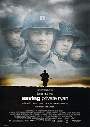 Posters USA - Saving Private Ryan Movie Poster GLOSSY FINISH) - MOV112 (24' x 36' (61cm x 91.5cm))