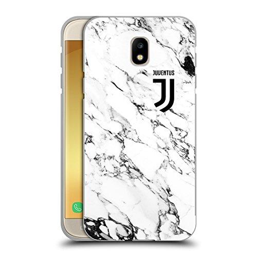 Head Case Designs Licenza Ufficiale Juventus Football Club Bianco Marmoreo Cover Nera Metallica in Alluminio Bumper Compatibile con Samsung Galaxy J5 (2017)