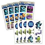Monsters Inc Stickers Party Favors Activity Set -- 140+ Monsters Inc Stickers and Temporary Tattoos (Monsters Inc Party Supplies)