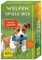 Welpen Spiele-Box gelb 12 x 3,5 cm: Plus Futterbeutel für sofortigen Spielspaß