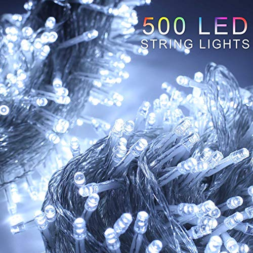 ZOIC 500 LED Christmas Wedding Party Fairy String Light Lamp