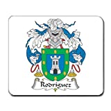 Rodriguez Family Crest Coat of Arms Mouse Pad
