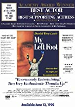 My Left Foot Movie Poster (11 x 17 Inches - 28cm x 44cm) (1989) Style B -(Daniel Day-Lewis)(Brenda Fricker)(Ray McAnally)(Cyril Cusack)(Fiona Shaw)(Hugh O'Conor)