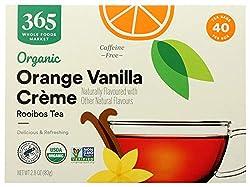 powerful 365 Daily Value, Organic Loei Boss Tea, Orange Vanilla Cream, 40 ct