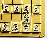 ACHICOO Japanisches Schach: Faltender magnetischer Shogi-Satz - 9.75`` Kind Geschenk -