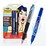 Shock Pen and Marker Prank Set 2-in-1 Funny Pens Gag Gift - Fool Friends and Make Family Laugh with...