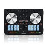 Reloop Beatmix 2 MK2 - Controlador PAD para DJ de 2 decks Serato Performance, 16 pads de batería...