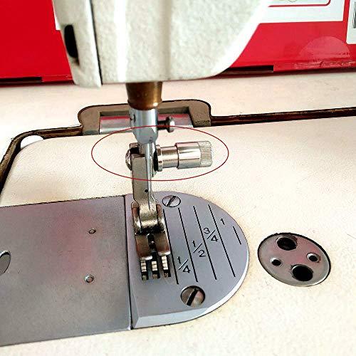 Tornillos de prensatelas de cambio rápido para máquina de coser Juki Singer Consew Brother (Cantidad: 1 pieza).