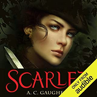 Scarlet audiobook cover art