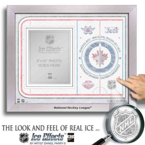 NHL Winnipeg Jets Ice Effects Rahmen