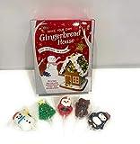 Haz tu propio kit de casa de pan de jengibre con paletas decoradas con Navidad