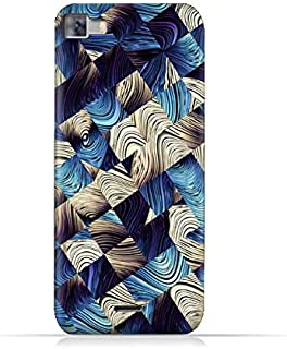Infinix Zero 3 X552 TPU Silicone Protective Case with Digital Art Abstract Pattern Design