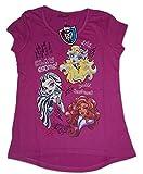 Monster High - T-shirt - Coque - Fille Violet Violet foncé