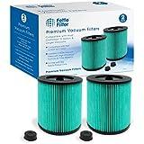 Filtro de grasa – 17912 & 9-17912 HEPA Filtro de aspiradora con material de filtro de aire de partículas de alta eficiencia compatible con Craftsman. Comparar con la parte # 17912 y 9-17912....