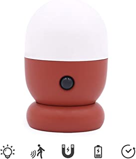 DBSCD Night Lights,Children's Lighting Night Lights for Kids with USB Charging,0.3W Energy Saving,Magnetic Design,Placed Anywhere,Red