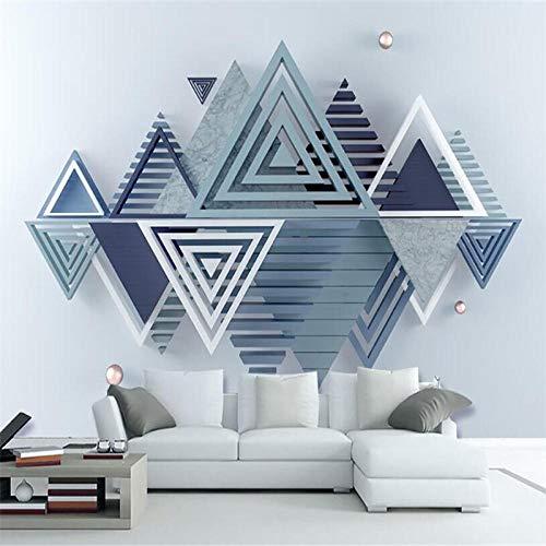 NIdezuiai aanpassen 4D muurbehang muur decoratie, moderne twee knuffelig leeuw behang voor kinderen kamer woonkamer tv achtergrond modern behang 80in×120in 200cm(H)×300cm(W) Zoals getoond