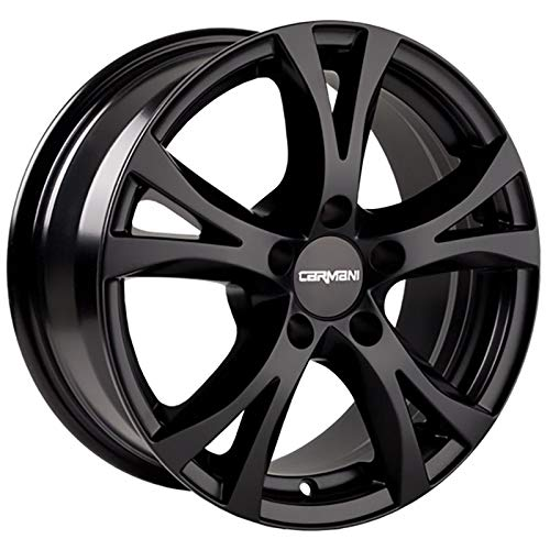 CARMANI 09 Compete black matt 6,5x15 ET45 5.00x108 Hub Bore 72.60 mm - Alu felgen