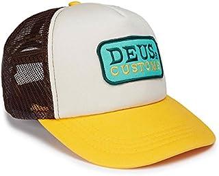DEUS EX MACHINA (デウス エクス マキナ) メッシュキャップ 帽子 GLIMOUR TRUCKER - BROWN GOLD DMS77593