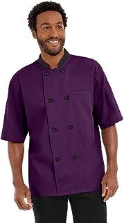 Men's Lightweight Chef Coat (S-5X, 8 Colors)