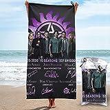 Supernatural 15season Microfiber Beach Towel Quick Drying Bath Towel-for Travel Pool Swimming