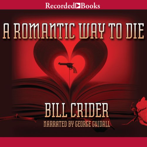 A Romantic Way to Die audiobook cover art