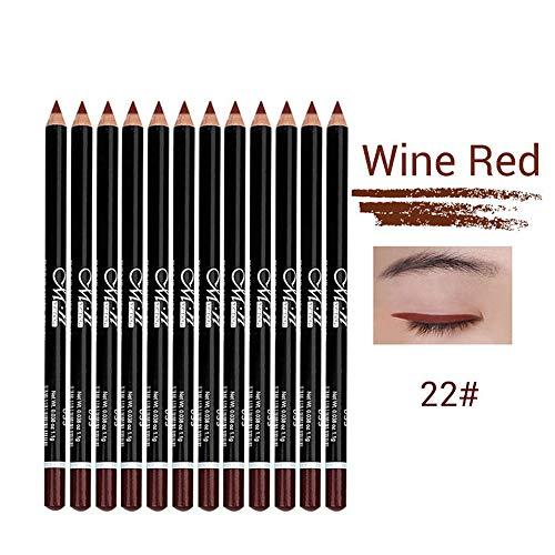 DASFNVBIDFAHB Crayon à sourcils, maquillage automatique cosmétiques outil (Color : 22)