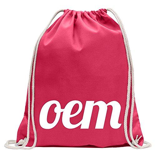 Kiwistar Conception OEM 1 Fun sac à dos sport sac de remise en forme Gymbag shopping coton avec cordon