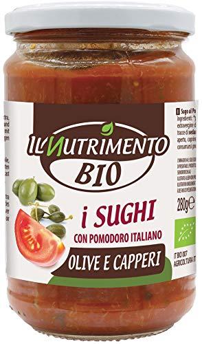 IL NUTRIMENTO Oliven - Kapern Sauce, 3er Pack (3 x 280 g)