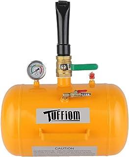 TUFFIOM 5 Gallon Air Tire Bead Blaster Seater w/Pressure Gauge & Handle, Wheel Seating Tool Inflator Tank for Truck ATV, 85-116PSI Operating Pressure