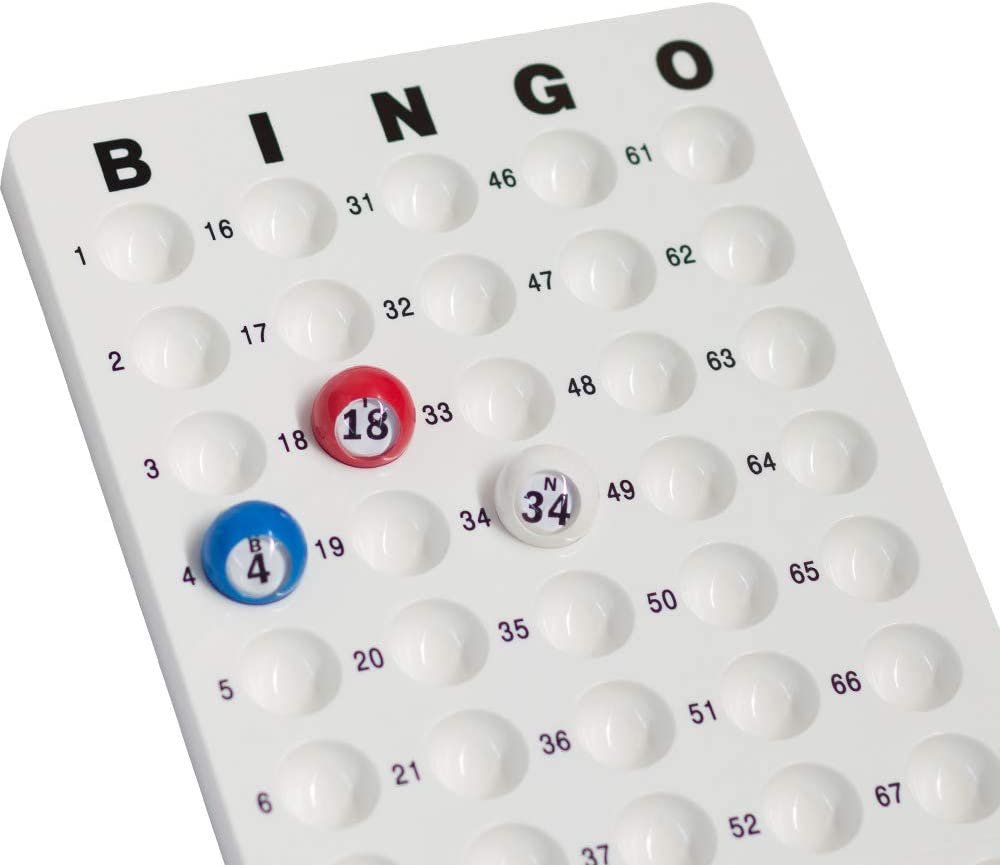 Bingo Game Master Board for 7//8 Bingo Balls