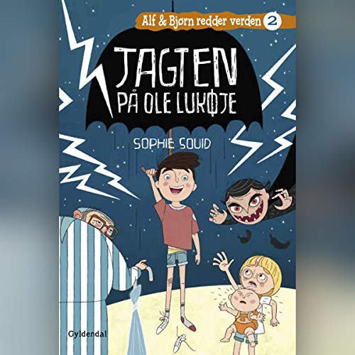 Jagten på Ole Lukøje audiobook cover art