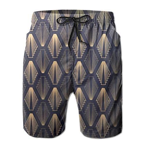 OMNHGFUG Pantalones cortos de playa para hombre, con textura, estilo casual, clásico, con cordón, de secado rápido, pantalones cortos elásticos de verano con bolsillos