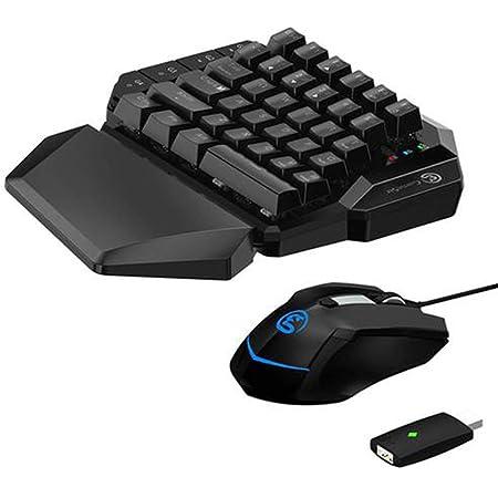 HKJCC Teclado y Mouse para Juegos para Xbox One PS4 PS3 ...