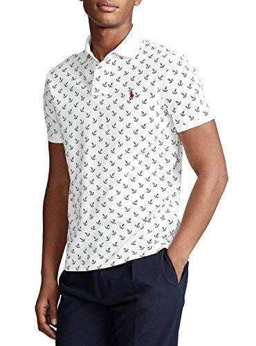 Poloshirt Ralph Lauren Anker Weiß Herren, Weiß M
