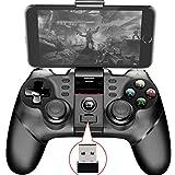 LYY Pad Controller Bluetooth Gamepad Juego Móvil Gatillo Palanca De Mando Adecuados para Android Móvil TV Box PC PS3 VR