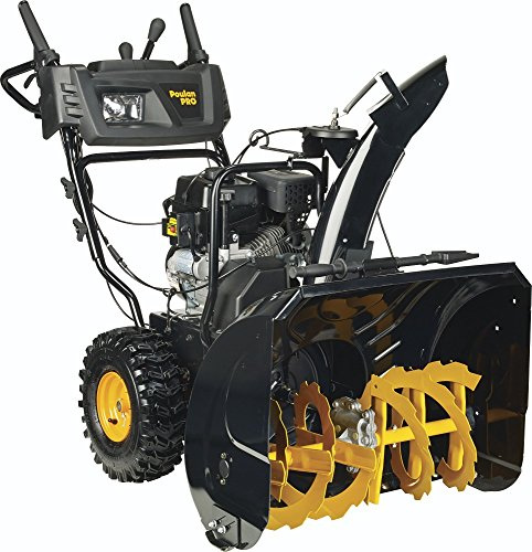 Poulan Pro PR271, 27 in. 254cc LCT Two-Stage Electric Start Snow Blower with Power Steering