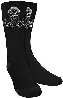 Octopus Whale Sea Turtle Sea Life Crew Socks Adult Athletic Sublimated Socks for Men Women