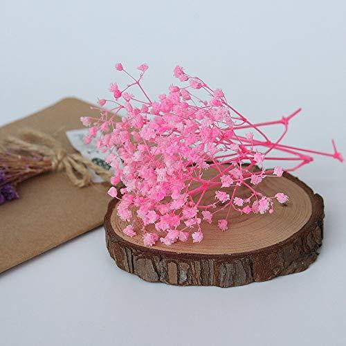 Mini-Bouquet, natürliche getrocknete Blumen, ewige Blumenkasten-Dekoration, DIY Hochzeit, Brautschmuck, Kopfbedeckung Zubehör