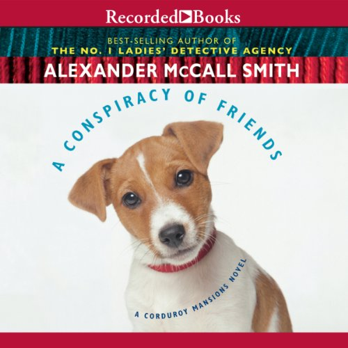 A Conspiracy of Friends audiobook cover art