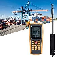 BXU-BG 正確気象データの収集アウトドアセーリングサーフィンの使用を測定するためのデジタルハンドヘルド風速計、GM8903ポータブルホットワイヤ風速温度計風量テスター