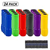 Topme Small Mini Flashlights Pack of 24, Bulk Flashlights for Kids,100 Lumen,AAA Battery