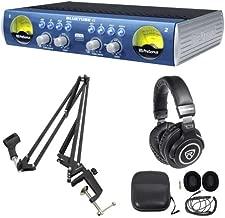 Presonus Bluetube DP V2 2 Channel Tube Mic Pre-Amp DP2+Boom Arm+Headphones