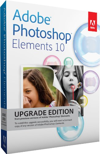 Adobe Photoshop Elements 10 - Upgrade [import allemand]