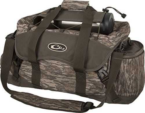 Drake Waterfowl Hunting Waterproof Liner Outdoor Blind Bag 2.0, Large, Mossy Oak Bottomland