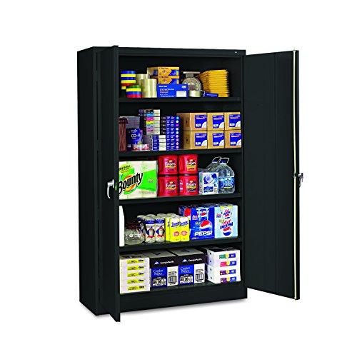 Tennsco J1878SUBK Assembled Jumbo Steel Storage Cabinet, 48